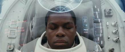Finn from the trailer for Star Wars: Episode VIII - The Last Jedi