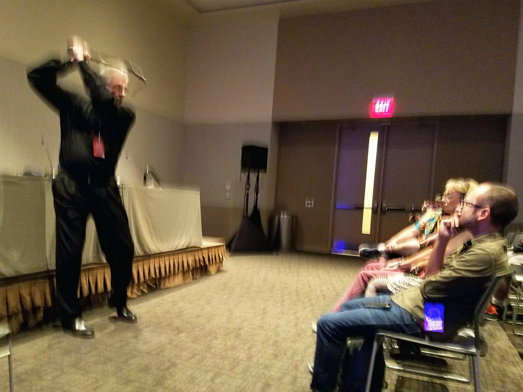 Jim Shooter - Phoenix Comicon 2017 – photo by Bob Leeper