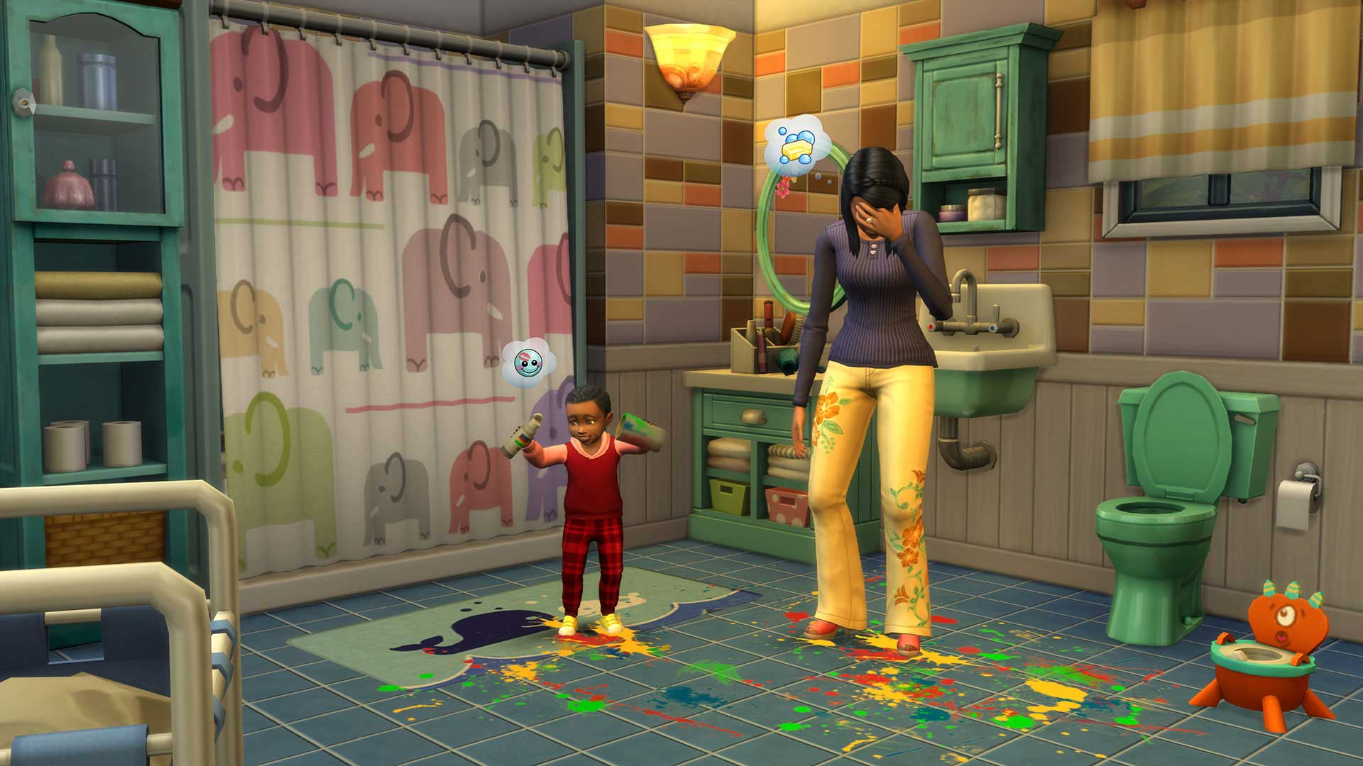 The Sims 4 expanding the family with 'Parenthood' · Nerdvana