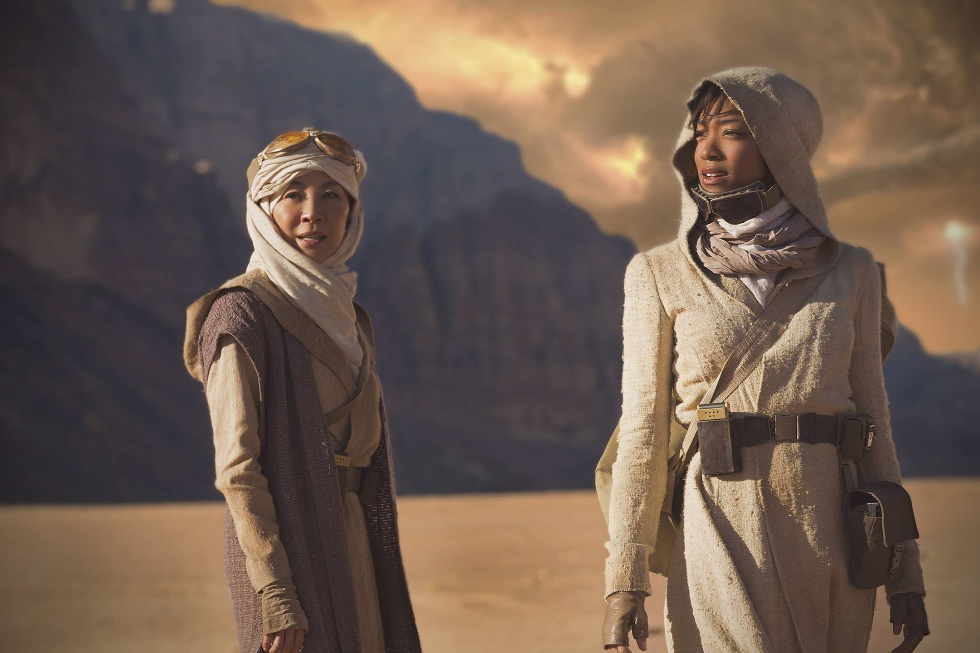 Star Trek: Discovery - Georgiou and Burnham