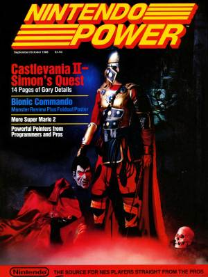 Nintendo Power No. 2 - Castlevania II: Simon's Quest