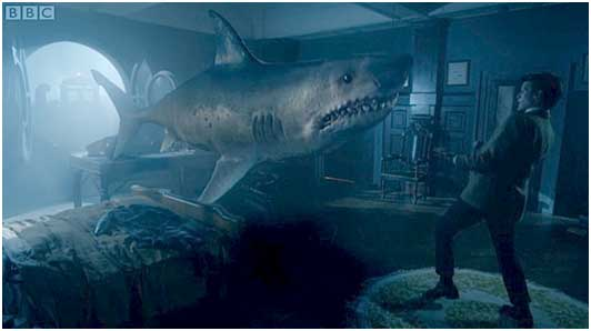 That Time The Th Doctor Taught Us The True Meaning Of Space Christmas With Sharks