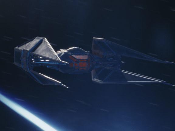 Kylo Ren's ship revealed: TIE Silencer targets Resistance