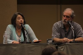 Ellen McLain discussed her voice work on Pacific Rim with John Patrick Lowrie.