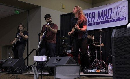 Super MadNES was just one of many musical acts performing at the convention over the weekend.