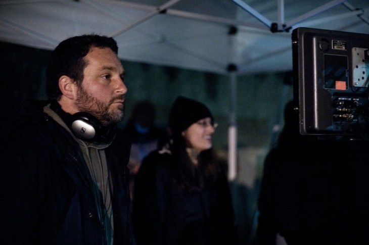 Director Colin TREVORROW on the set of SAFETY NOT GUARANTEED