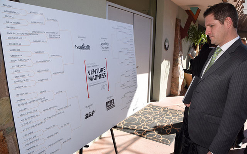 The annual Venture Madness competition helps startup companies gain exposure. (Photo courtesy of Invest Southwest)