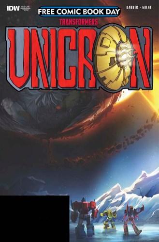 TRANSFORMERS: UNICRON: THE DARKEST HOUR #0 IDW Publishing
