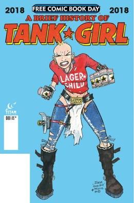 A BRIEF HISTORY OF TANK GIRL Titan Comics