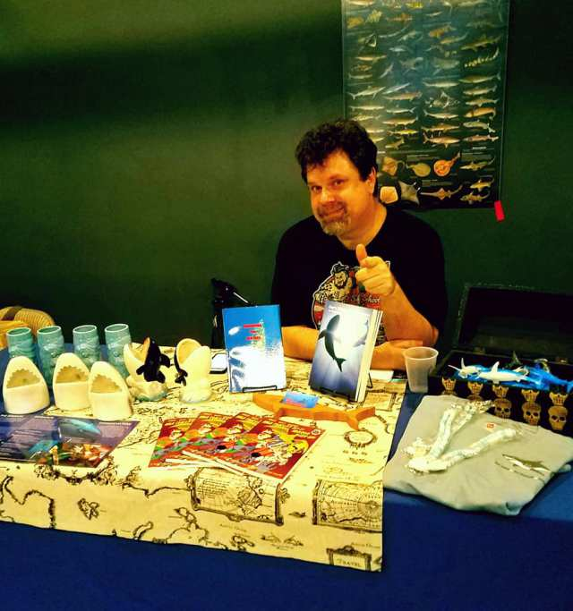 The Klute, an Arizona-based author, slam poet and shark conservationist, will be a vendor at the Mesa Book Festival on Dec. 9, selling and sharing his works that fuse his skills in writing and experiences in ocean activism. (The Klute/Special to MyNewsMesa.com)