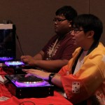 Rhythm games proved popular in the AZHP Gaming room at the convention.