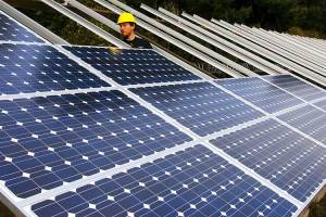 President Donald Trump said the tariffs he is imposing on imported solar components will preserve U.S. companies and help create jobs here, but some industry officials fear it will have the opposite effect by driving up prices and turning people away from solar power. (Photo by Oregon Department of Transportation/Creative Commons)