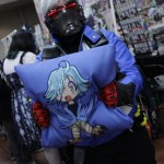 Soldier 76 just couldn't resist purchasing some anime memorabilia.