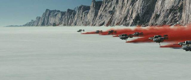 The Battle of Crait holds several little things you may have missed in The Last Jedi. (Image: Disney/Lucasfilm)