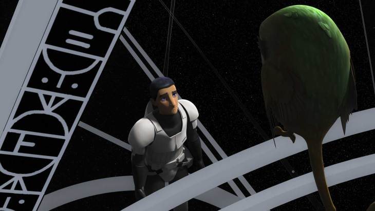"""""""Star Wars Rebels"""" episodes - """"Wolves and a Door"""" and """"A World Between Worlds"""""""