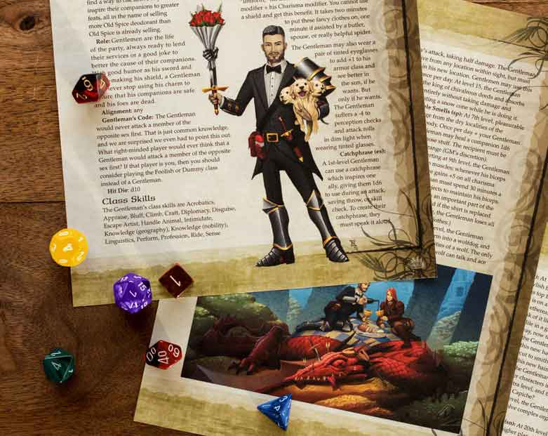Old Spice Dungeons & Dragons