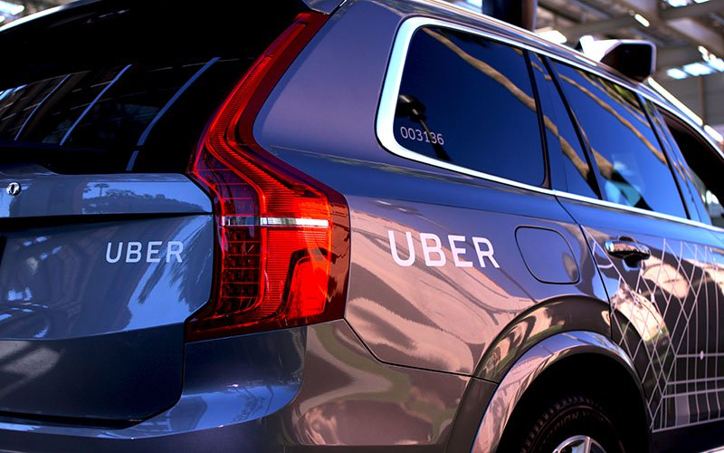 Self-driving Uber cars will not be tested on Arizona streets for the foreseeable future. (Photo by Chelsey Ballarte/Cronkite News)