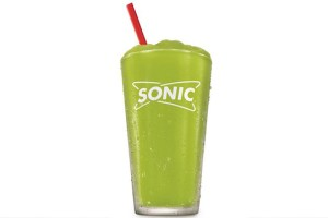 Sonic pickle juice slush
