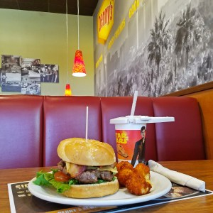 Denny's Solo: A Star Wars Story Blaster Fire Burger