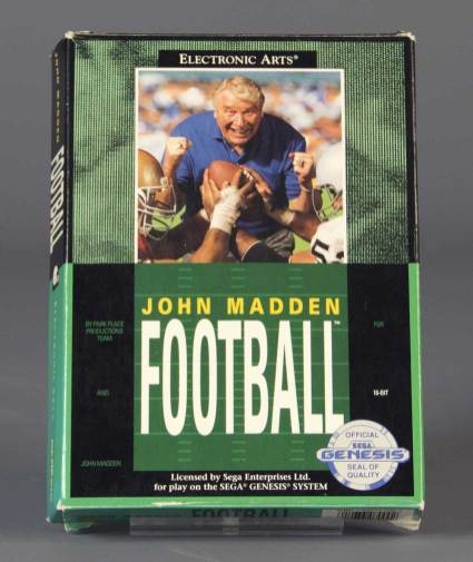 John Madden Football in World Video Game Hall of Fame 2018