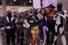 This Overwatch group was ready for a match. Photo by Christen Bejar.