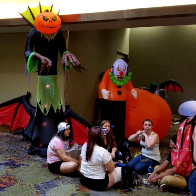 Infernal inflatables