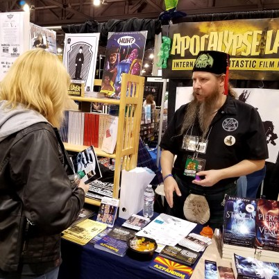 Apocalypse Later founder, cult film author and Nerdvana contributor, Hal C.F. Astell ,can be found at Phoenix Comic Fest, Friday, May 25, 2018, at the Phoenix Convention Center.