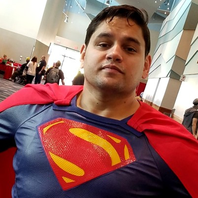 The panelists never showed for the Superman 80th anniversary panel, but the Man of Steel was still representing at Phoenix Comic Fest, Friday, May 25, 2018, at the Phoenix Convention Center.
