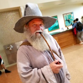 Gandalf is looking for adventurers at Phoenix Comic Fest, Saturday, May 26, 2018, at the Phoenix Convention Center.