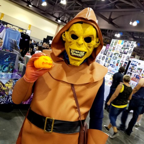 Hobgoblin cosplay at Phoenix Comic Fest, Saturday, May 26, 2018, at the Phoenix Convention Center.