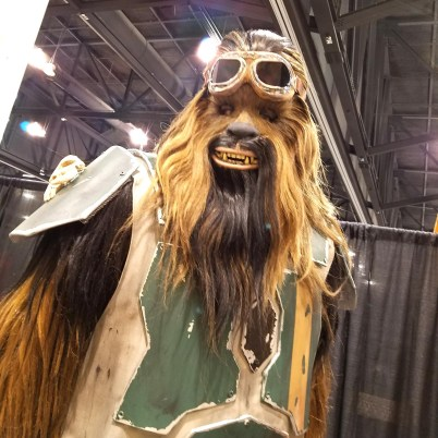 A Wookiee cosplayer at Phoenix Comic Fest, Saturday, May 26, 2018, at the Phoenix Convention Center.