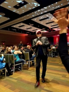 Michael Rooker takes questions at Phoenix Comic Fest, Sunday, May 27, 2018, at the Phoenix Convention Center.