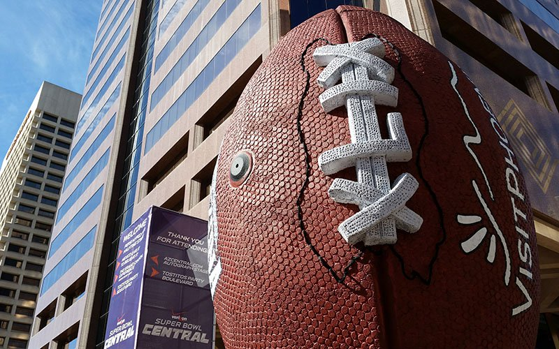 The last time the Super Bowl landed in Arizona was 2015. A study suggested an economic impact of $720 million from Super Bowl XLIX. (Photo by Aimee Cash/Cronkite News)