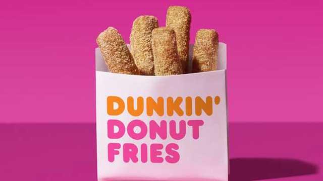 Dunkin Donut Fries
