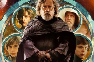 Joe Corroney Denver Comic Con Luke Skywalker artwork