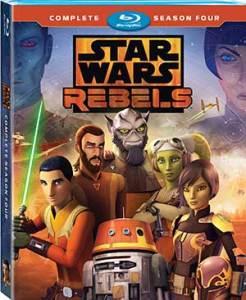 Star Wars Rebels Season 4 Blu-ray