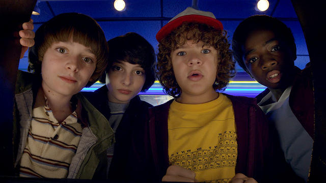 Stranger Things actors join for D&D holiday game