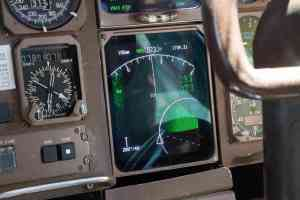 Radar and terrain-avoidance were among the systems being tested in Arizona on a modified Boeing 757. (Photo by Nick Serpa/Cronkite News)