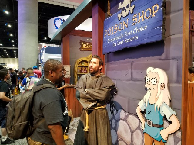 Disenchantment at San Diego Comic-Con 2018
