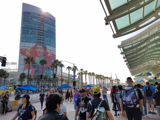 Thursday morning, July 19, 1018, San Diego Comic-Con