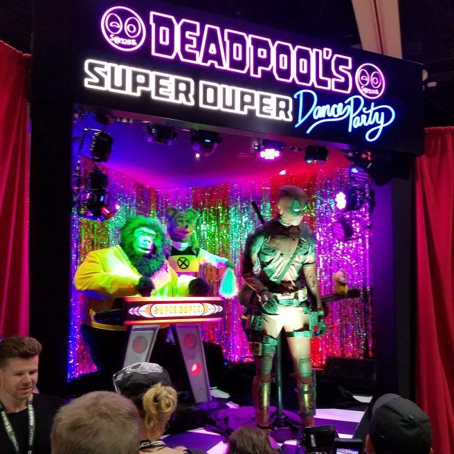 Deadpool at San Diego Comic-Con 2018