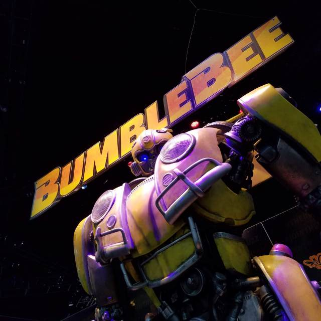 Bumblebee Transformer at San Diego Comic-Con 2018