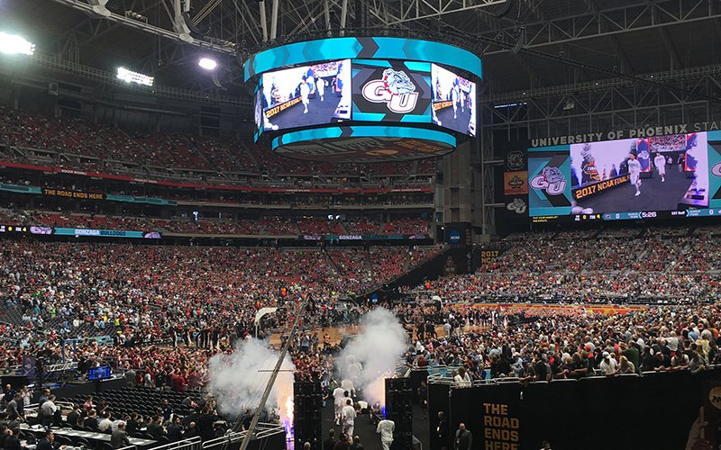 Phoenix, which just hosted the Final Four in 2017, was just awarded it for 2024. (Cronkite News photo)