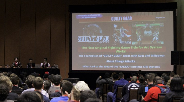 Arc System Works hosted a panel diving into their 30 years of fighting games.