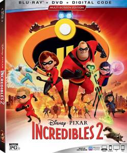 The Incredibles 2 video