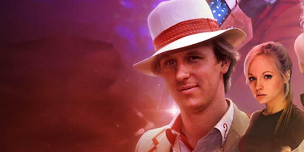 Family time: Fifth Doctor meets his daughter, Jenny, in Big Finish Doctor Who anniversary epic