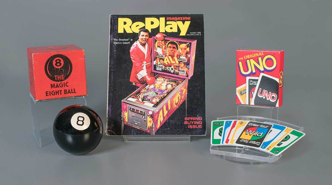 After being named a finalist seven times, the mystical Magic 8 Ball has been inducted into the National Toy Hall of Fame, alongside the popular card game Uno and the fast-paced, resurgent pinball.