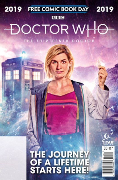 DOCTOR WHO: THE THIRTEENTH DOCTOR — FREE COMIC BOOK DAY 2019