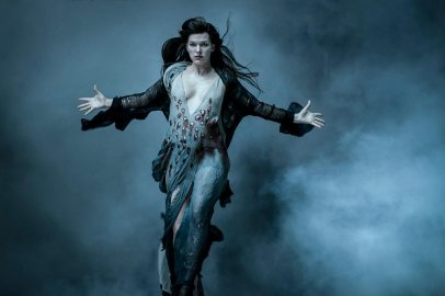 Milla Jovovich stars as 'Nimue the Blood Queen' in HELLBOY. Photo Credit: Mark Rogers