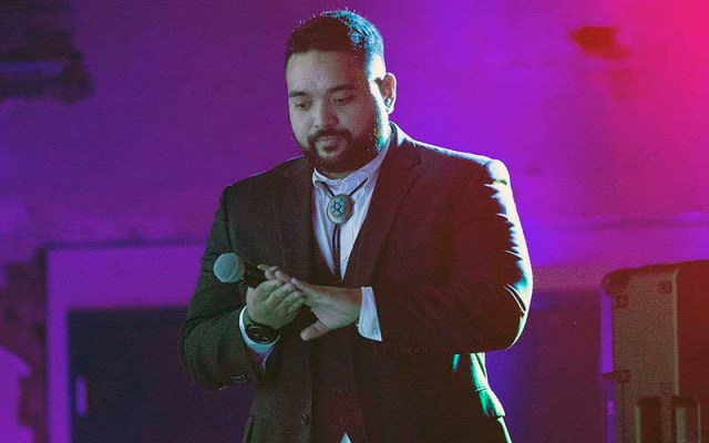 Vicente J. Reid, CEO of the Arizona Asian Chamber of Commerce, helped organize the So Good Food and Film Festival in November to showcase local minority-owned businesses and raise money for legal aid to families facing deportation. (Photo by Vivian Meza/Cronkite News)